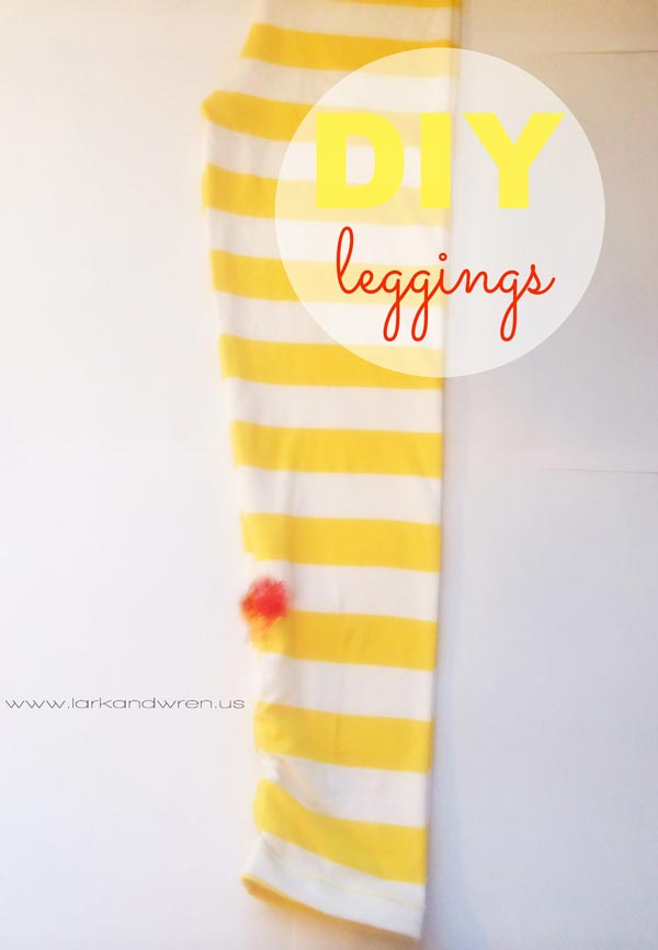 DIY Leggings Tutorial