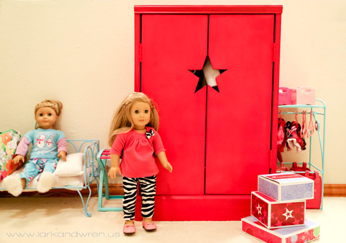 DIY American Girl Doll Wardrobe